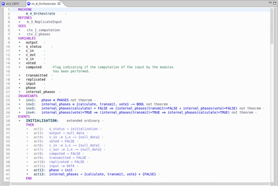 a basic view of the Rodin Editor on a context